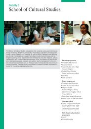 School of Cultural Studies - International Office