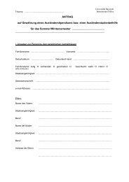 Antragsformular - International Office - Universität Bayreuth
