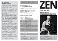 Izt Flyer - International Zen-Temple