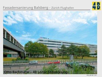 Fassadensanierung Balsberg - Zürich Flughafen Otto Bachmann - GNI