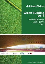 Flyer Green Building Letzigrund Stadion Zürich - GNI