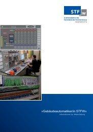 «Gebäudeautomatiker/in STFW» - GNI