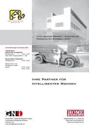 Ihre Partner für Intelligentes Wohnen - GNI