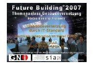 Gebäudevernetzung durch IT-Standard