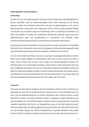 Universität Ostrava (WS12/13)