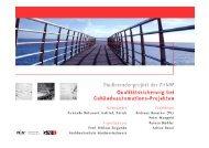 11.5.06 Anlass: GNI-Spezialseminar Vortrag: QS bei GA-Projekten ...