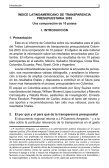 Reporte Nacional - Índice Latinoamericano de Transparencia ... - Page 3