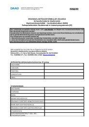 Antrag für ERASMUS-Teilnehmende mit ... - Internationales