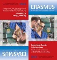 ERASMUS Flyer Praktikum - Internationales