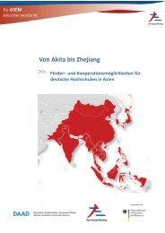 Von Akita bis Zhejiang - Internationales