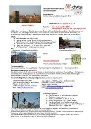 Flyer für MTA Dialog und Homepage