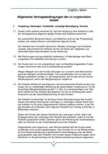 Edv Wartungsvertrag