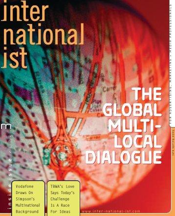 the global multi - Internationalist
