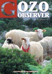The gozo observer - International Journal of Arts & Sciences