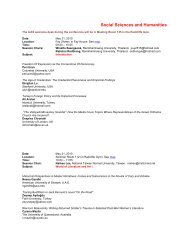 Social Sciences and Humanities - International Journal of Arts ...