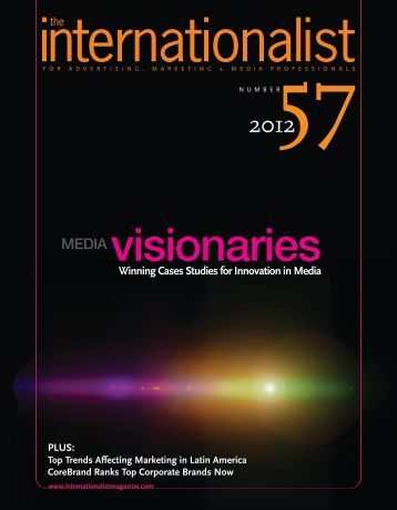 Winning Cases Studies for Innovation in Media - Meet the China 50