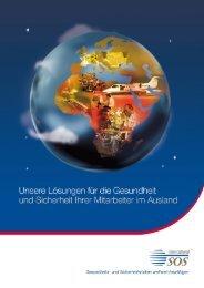 Broschüre International SOS