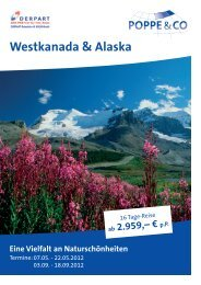 Westkanada & Alaska - Internet-reiseparadiese.de