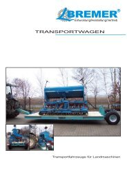 Transportwagen - Bremer Landmaschinen
