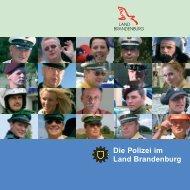 Die Polizei im Land Brandenburg