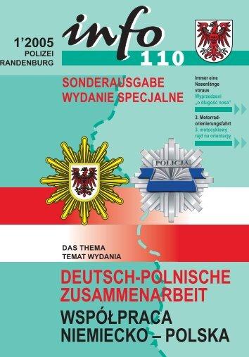 deutsch-polnische zusammenarbeit współpraca niemiecko – polska