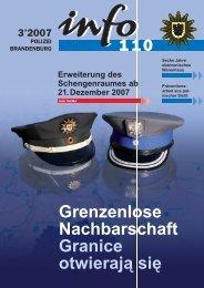 Grenzenlose Nachbarschaft Granice otwierają się - Polizei ...