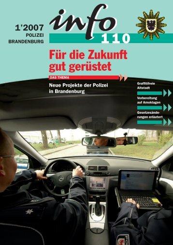 web info 110_ 01-07 - Polizei Brandenburg - Brandenburg.de
