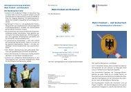 Mehr Freiheit – mit Sicherheit - Polizei Brandenburg