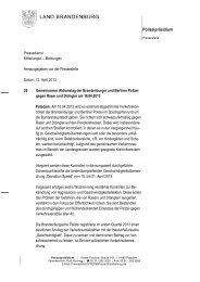 PM 29 Geschwindigkeit TISPOL-Kontrollen - Polizei Brandenburg ...