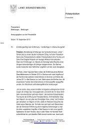 PM 70 Storkow - Polizei Brandenburg
