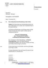 2013-11-05 PM 85 LPO zu Gast in Polen - Polizei Brandenburg