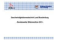 Messtechnik im Einsatz- Blitzermarathon Okt 2013_Version ...