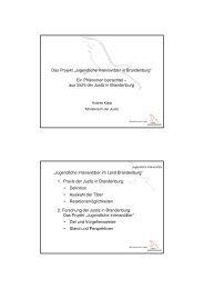 04 Forschungsprojekt Jugendliche Intensivtäter - Polizei Brandenburg