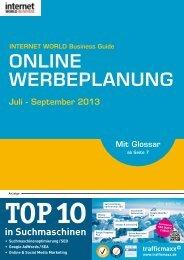 ONLINE WERBEPLANUNG - Internet World Business