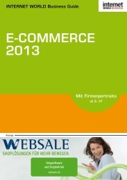 E-COMMERCE - Internet World Business