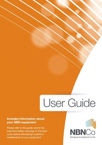 NBN User Guide - Internode