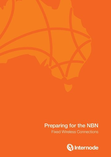 Preparing for the NBN (Wireless Connections) - Internode
