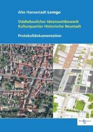 Alte Hansestadt Lemgo Städtebaulicher ... - Dhp-sennestadt.de