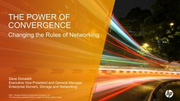 The Power of Convergence - Interop
