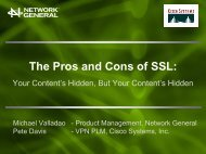 The Pros and Cons of SSL - Interop