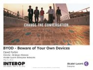 BYOD - Beware of Your Own Devices - Interop