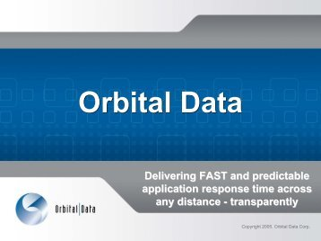 Orbital Data IP Express - Interop