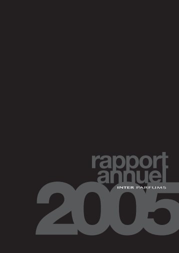 Rapport annuel 2005 - Interparfums