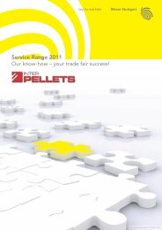 Service Range 2011 Our know-how – your trade fair ... - Interpellets