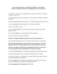 """List of corrections/edits to """"About Plato's Philebus"""" by ... - Interpretation"""