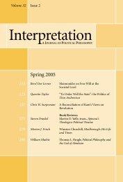 Spring 2005 - Interpretation