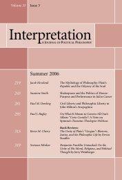 Summer 2006 - Interpretation