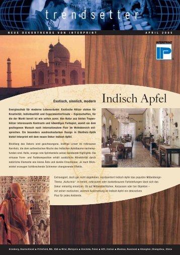 Indisch Apfel - interprint