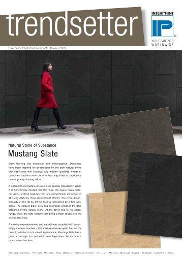 Mustang Slate - Interprint