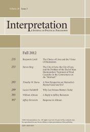 A New Perspective on Nietzsche's Beyond Good and ... - Interpretation